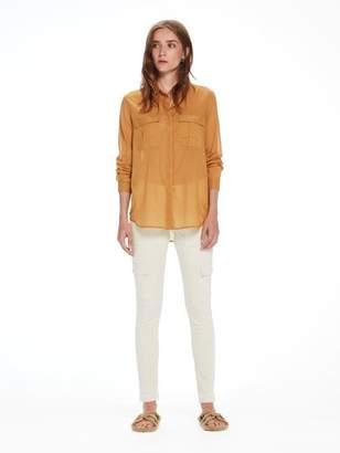 Scotch & Soda Cotton Safari Shirt