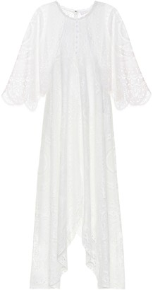 Chloé Lace cotton-blend maxi dress