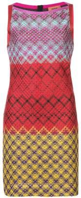 Missoni colourblock mini shift dress