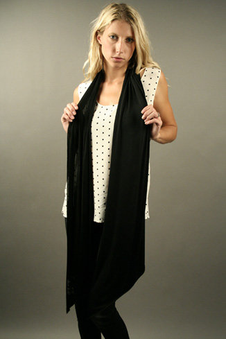 Nightcap Scarf - Black