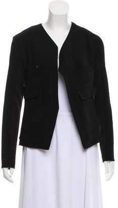 Vena Cava Asymmetrical Long Sleeve Blazer