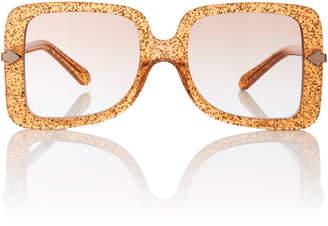 Karen Walker Eden Square-Frame Acetate Sunglasses