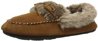 Acorn Women's Cozy Faux Fur Moc Slipper,M Standard Width US