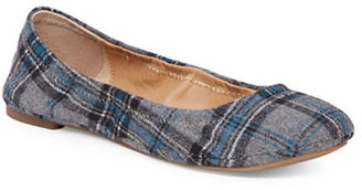 Lucky Brand Emmie Fabric Ballet Flats $59 thestylecure.com