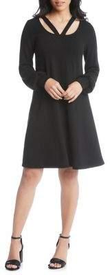 Karen Kane Cut-Out Sweater Dress