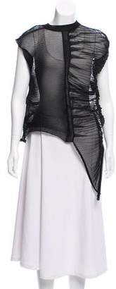 Rick Owens Abstract Semi-Sheer Oversize Top w/ Tags