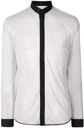 Unconditional mandarin basic shirt