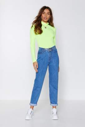 Nasty Gal Leg It High-Waisted Jeans
