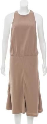 Brunello Cucinelli Silk Midi Dress