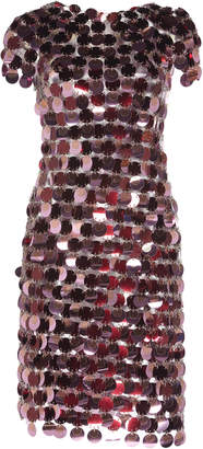 Paco Rabanne Sequin Mini Dress Size: 38