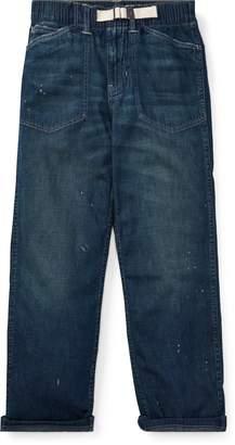 Ralph Lauren Denim Utility Pant