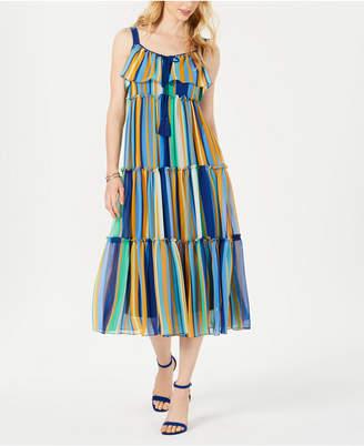 Taylor Tiered Empire-Waist Maxi Dress