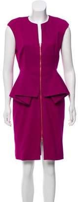 Ted Baker Cap Sleeve Knee-Length Dress