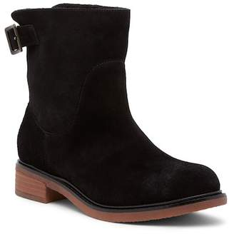 Kelsi Dagger Brooklyn Clay Faux Shearling Lined Suede Boot