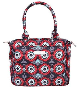 Ju-Ju-Be Be Classy - Structured Handbag Diaper Bag, Sweet Scarlet