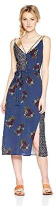 LIRA Women's See Floral Colorblock Dress