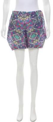 Zero Maria Cornejo Silk Printed Shorts w/ Tags