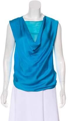 Bottega Veneta Sleeveless Silk Top