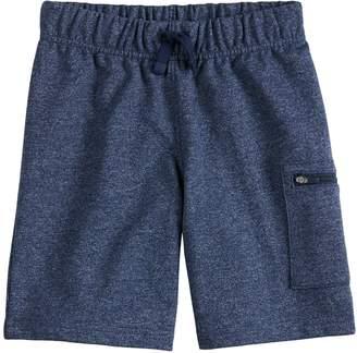 Boys 4-10 Jumping Beans Textured Zip Pocket Shorts