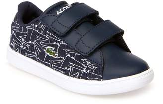 Lacoste Infants' Carnaby Evo Canvas and Synthetic Trainers