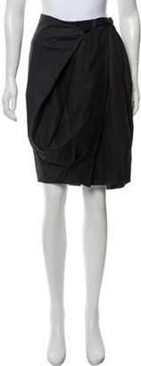 Acne Studios Knee-Length Bubble Skirt Black Knee-Length Bubble Skirt