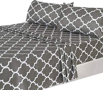 Utopia Bedding 4 Piece Bed Sheets Set (King