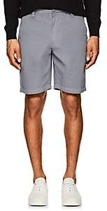 Barneys New York MEN'S COTTON TWILL SHORTS