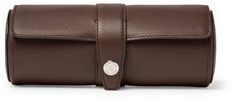 Brunello Cucinelli Leather Watch Roll - Brown