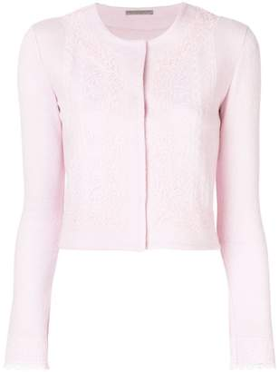 Ermanno Scervino fitted cropped jacket