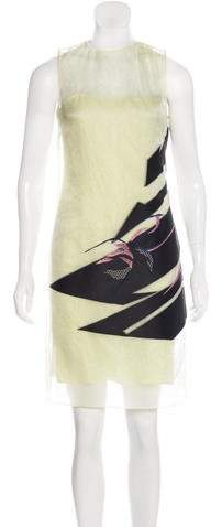 Christian Dior Jacquard Silk Dress