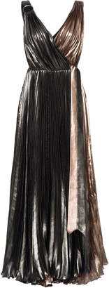 Maria Lucia Hohan Diya Pleated Chiffon Dress