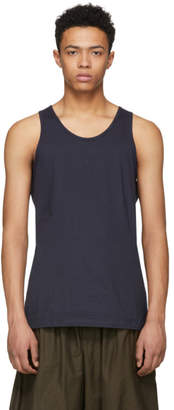 Comme des Garcons Navy Basic Tank Top