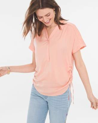 Chico's Chicos Side-Cinch Tee