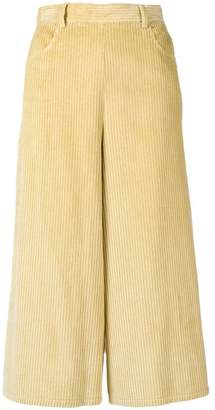 See by Chloe cropped corduroy trousers