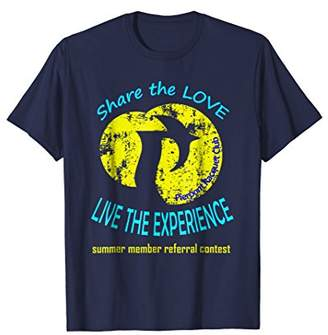 Share The Love - Distressed Logo Referral Contest Shirt