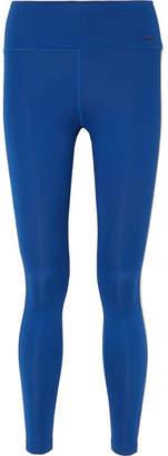 Nike Striped Stretch Leggings - Blue