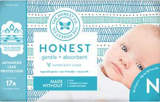 The Honest Company Teal Stripe Diapers