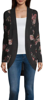 Arizona Long Sleeve Cardigan-Juniors