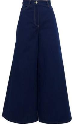 Valentino High-rise Wide-leg Jeans