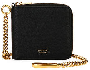 Tom Ford Men's Leather Chain Wallet