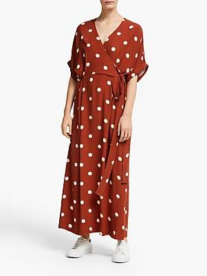 Just Female Caia Dress, Barn Red