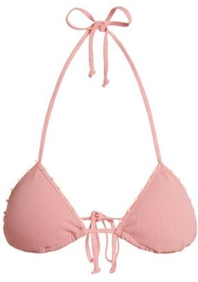 Marysia Swim St Tropez Triangle Bikini Top - Womens - Pink