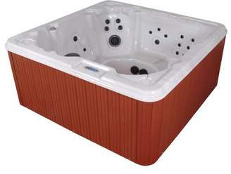 QCA Spas Jamaica Luxurious 8-Person 90-Jet Spa with LED Light and Ozonator