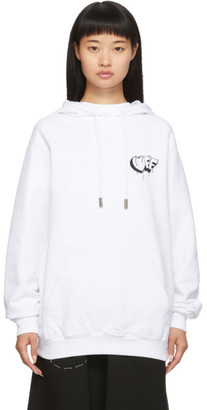 Off-White Off White White Markers Regular Hoodie