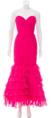 Jovani Ruffled Evening Dress