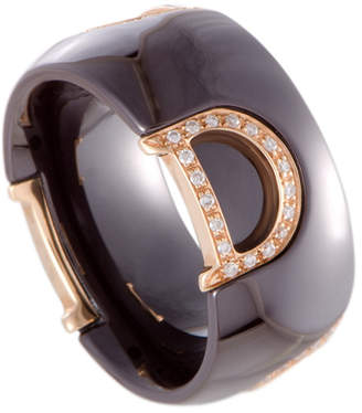 Damiani 18K 0.21 Ct. Tw. Diamond Ring