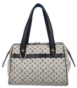 Louis Vuitton Mini Lin Josephine PM Blue Mini Lin Josephine PM