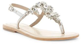 Ralph Lauren Lorraine Bermuda Embellished Thong Sandal