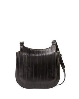The Row Leather Crossbody Hunting Bag