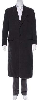 Giorgio Armani Wool Trench Coat